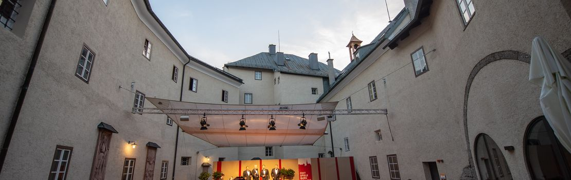 Burg Golling Foto: Marc Stickler